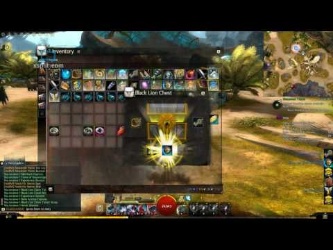 Guild Wars 2 - Black lion chest openings