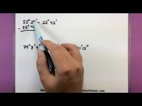 Trigonometry - Adding and Subtracting angles