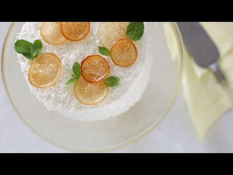Meyer-Lemon Coconut Layer Cake- Sweet Talk with Lindsay Strand