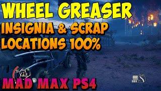 Mad Max - Finger Peak Relic, Insignia, and Scrap Parts