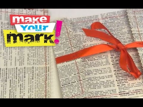 How To Make Recycled Book Page Envelopes DIY