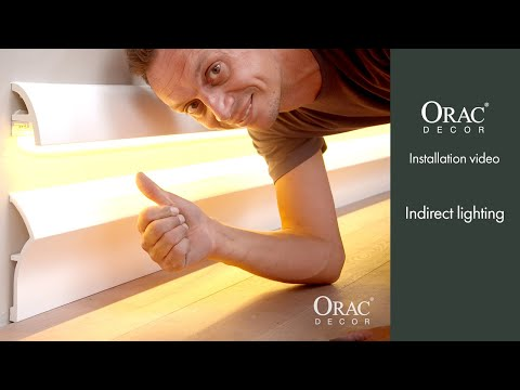 How To Install Indirect Lighting - Orac Decor® Installation Video