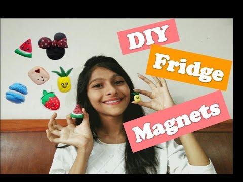 DIY Lamasa Clay Fridge Magnets ||Indian Youtuber|| |Sharvari Patil|
