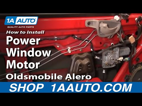 How To Install Replace Power Window Motor Oldsmobile Alero 99-04 1AAuto.com
