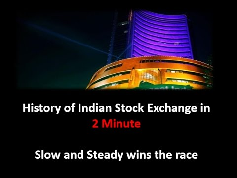 Story of Indian Stock Market in 2 Minutes