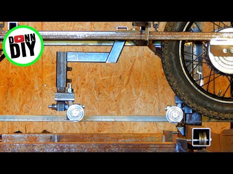 Homemade Portable Band Sawmill Build #18 - Fabricating Mounts For Blade Guides
