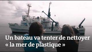 Le « Ocean CleanUp » va tenter de nettoyer « la mer de plastique »