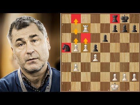 Ivanchuk Makes a Mistake Najdorf Made 63 Years Ago | #gibchess 2018. | Round 6