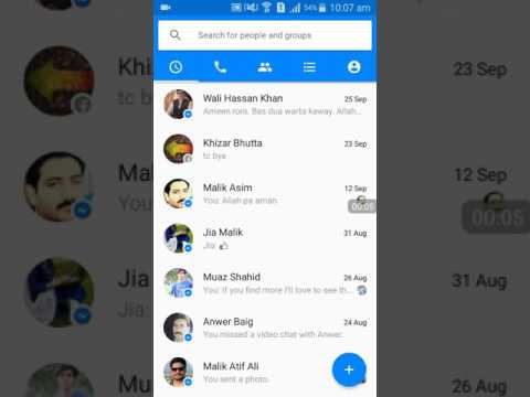 How to log out messenger on Samsung Galaxy  phones- Incredible learning