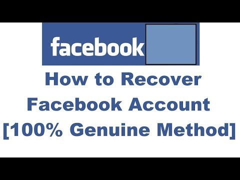 How to recover my facebook account without email and phone number