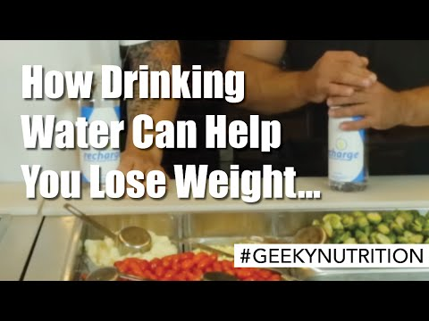 How drinking water can help you lose weight...