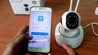 WiFi cctv camera easy installation