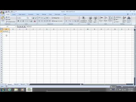 How to keep Excel 2007 from Auto Formatting dates