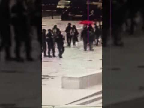 Notre Dame terrorist moment of the attack