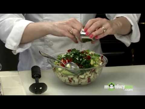 Healthy Snacks - Apple Cilantro Salsa