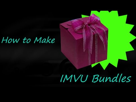 IMVU How To make Bundles