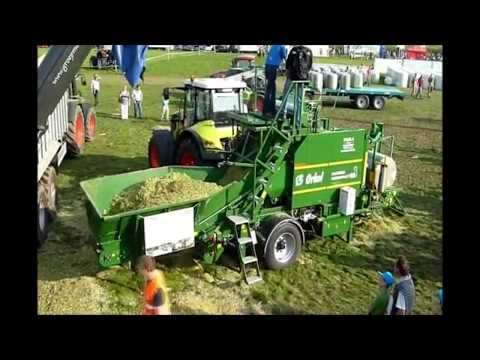 World Amazing Hay Bale Handling Modern & Retro Agriculture Equipment Mega Machines Tractor Harvester