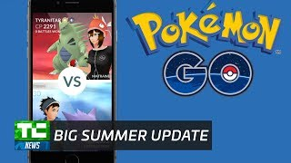 Pokemon Go is getting a big summer update