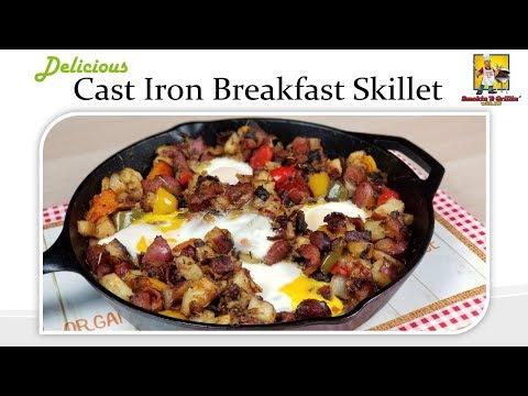 Bacon Sausage Breakfast Skillet - EPIC!