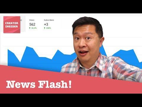 YouTube Updates Newsflash [April 27 2018]