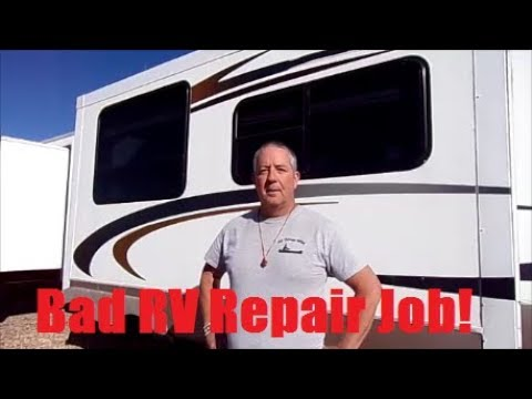 My Bad Experience with a Local RV Repair shop & the Outcome