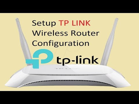 TP LINK Wireless Router Configuration Tutorial || TP LINK TL WR840N || AF Tech House