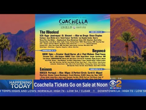 Coachella Tickets Go On Sale This Morning