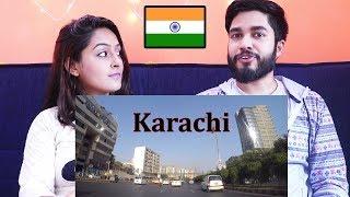Indians react to Karachi Street View Shahrah-e-Faisal Drive