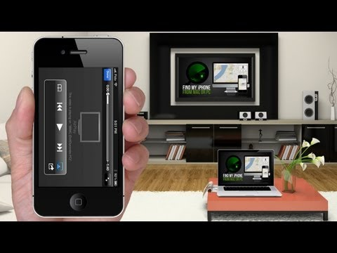 How to AIRPLAY Videos & Music from iPhone to Mac or PC