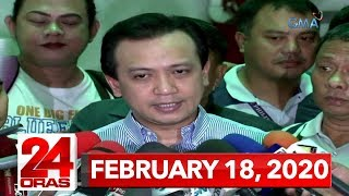 24 Oras Express: February 18, 2020 [HD]