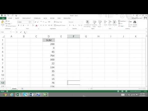 Excel For Noobs Part 56: Insert Function & Function Arguments Dialog Box Excel 2016 2013