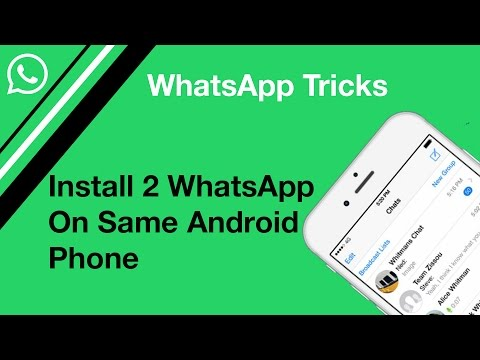 How to install 2 whatsapp on same Phone | Parallel Space