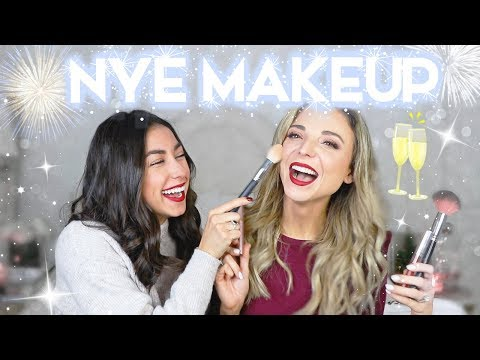New Years Eve Makeup Tutorial on My Roommate! w/ Dani Austin