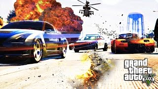 GTA 5 ONLINE: The Fate of The Furious April 14 | Fast & Petty Episode 2 [HQ]