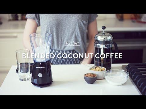 Blended Coconut Coffee Recipe