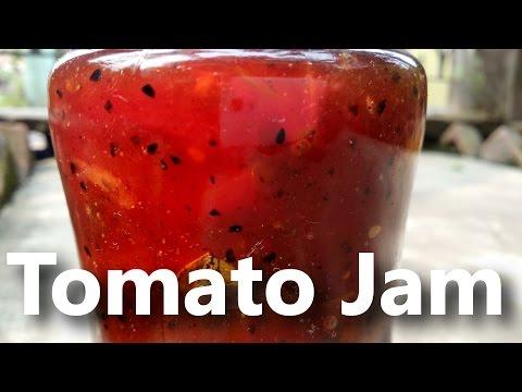 How to make tomato jam at home | Tomato jam recipe | tomate recette de confiture