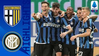 Parma 1-2 Inter | Two Late Inter Goals See Them Win From Behind As Both Teams See Red! | Serie A TIM