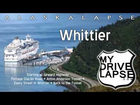 A driving tour of Whittier, Alaska + The Tunnel!
