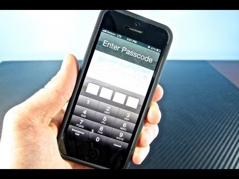 How To Bypass iOS 6.1.2/6.1 Passcode LockScreen iPhone 5/4S/4/3Gs - Fast & Easy Glitch