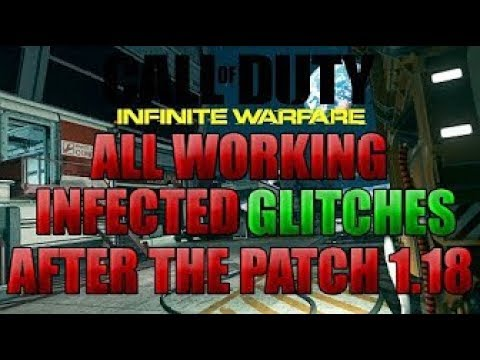 COD Infinite Warfare Glitches: ALL WORKING INFECTED SPOTS!