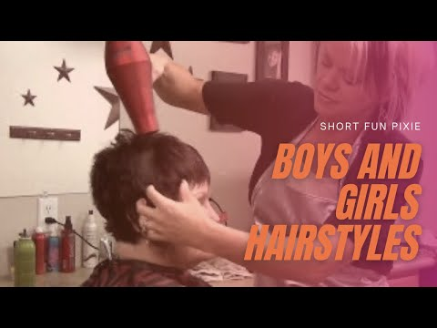 How to Style (Pixie Haircut) Short Hairstyles For Women