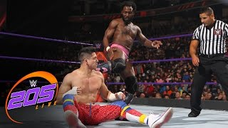 """The Outlandish"" Rich Swann vs. TJ Perkins: WWE 205 Live, Dec. 13, 2016"