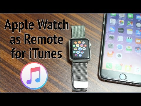 Use your Apple Watch as a Remote Control for iTunes
