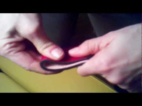 How to soften a leather belt strap