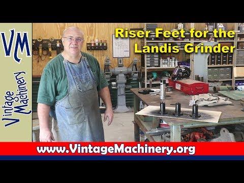 Making a set of Riser Feet for the Landis Grinder