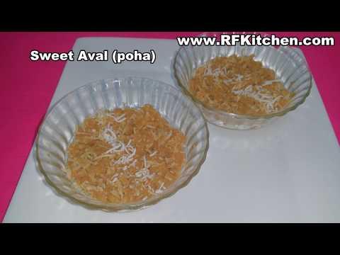 Sweet Aval - Sweet Poha