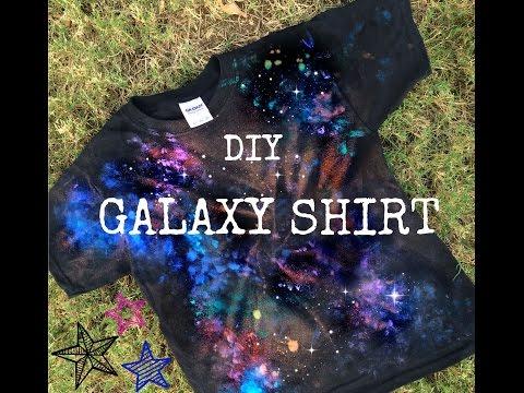 Make a Galaxy Shirt!