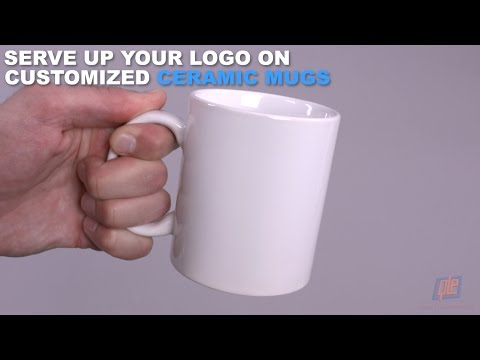 Serve Up Your Logo on Customized Ceramic Mugs