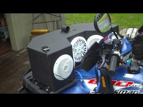 ATV Home built Audio system