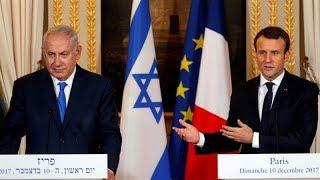 Macron asks Netanyahu to break peace impasse